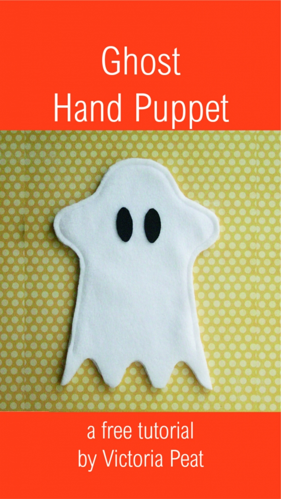 Ghost Hand Puppet Tutorial
