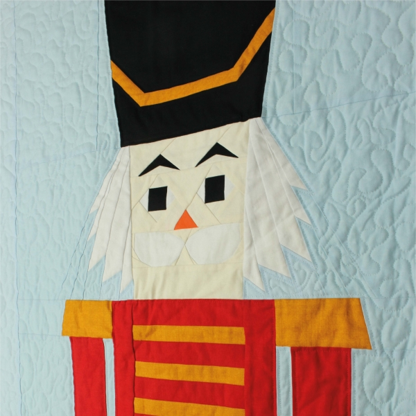 Nutcracker Wall Hanging Detail