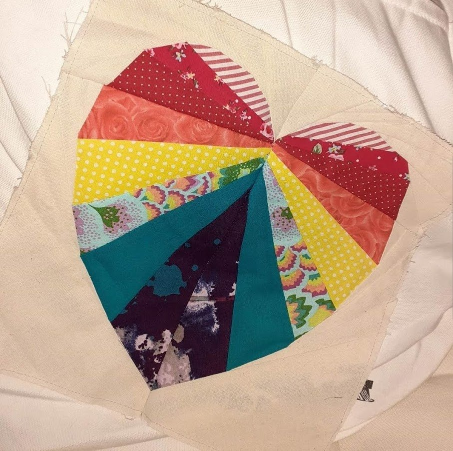 Facets of the Heart made by Anna Sewing Nut