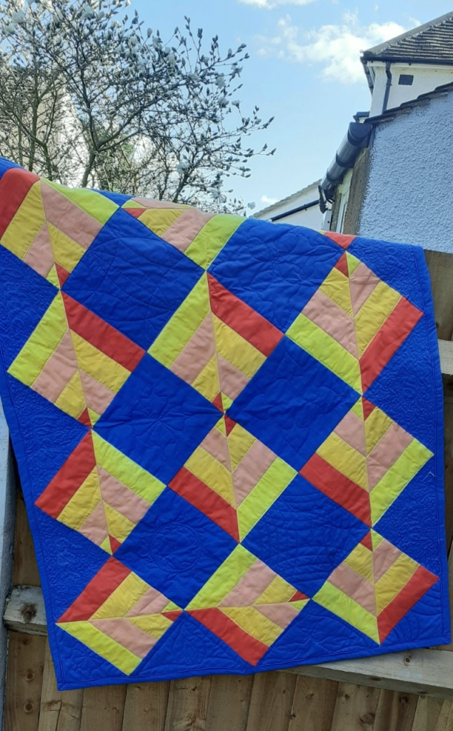 Anna Smith Point on Point Quilt