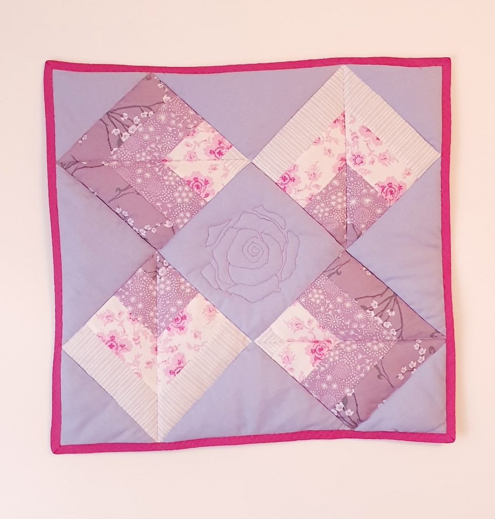 Emma Perchard Point on Point Wall quilt