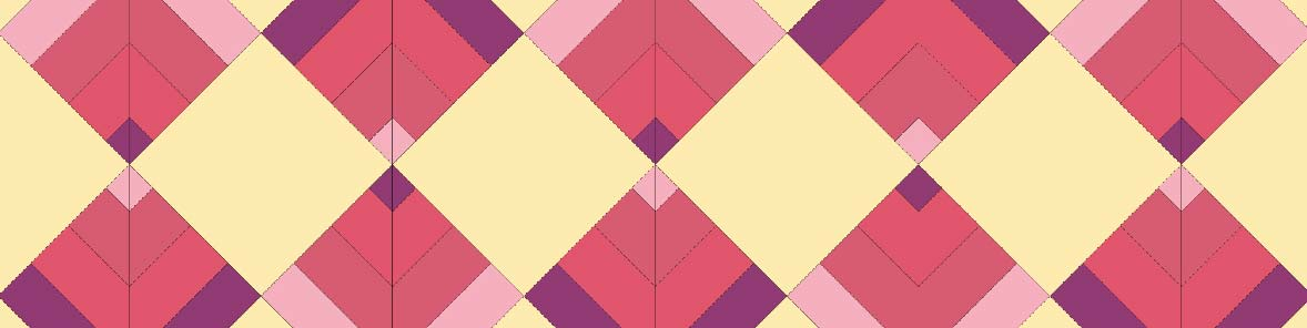 Point on Point quilt pdf pattern
