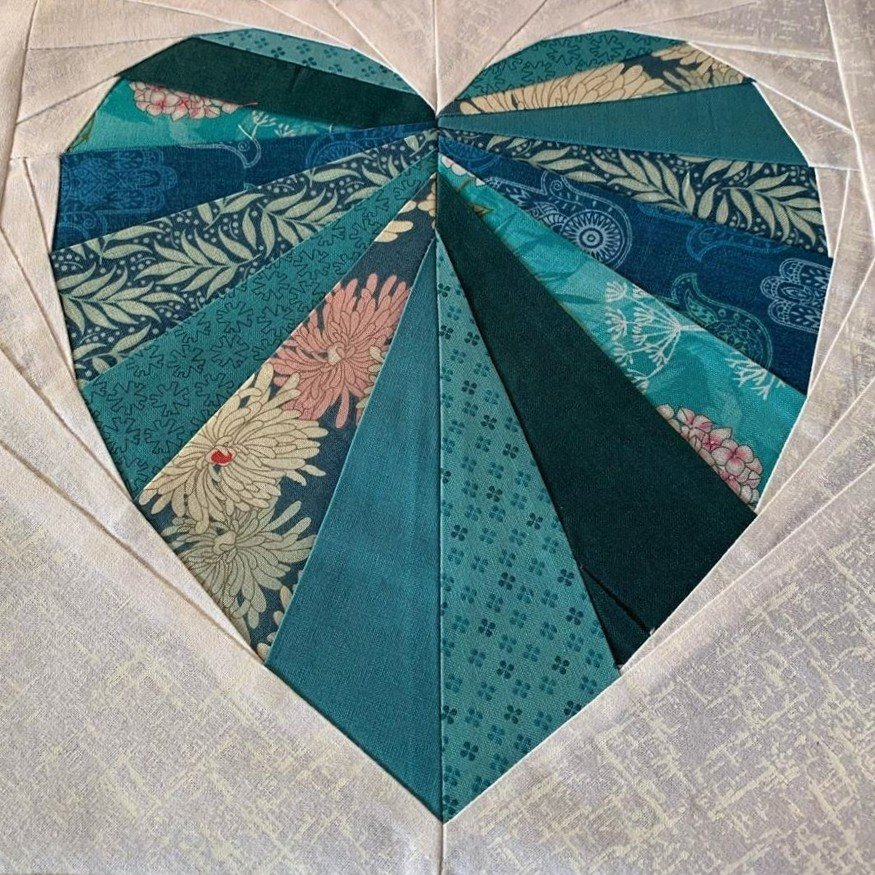 Sue Carrier Facets of the heart