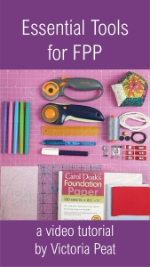 Essential Tools for FPP Foundation paper Piecing