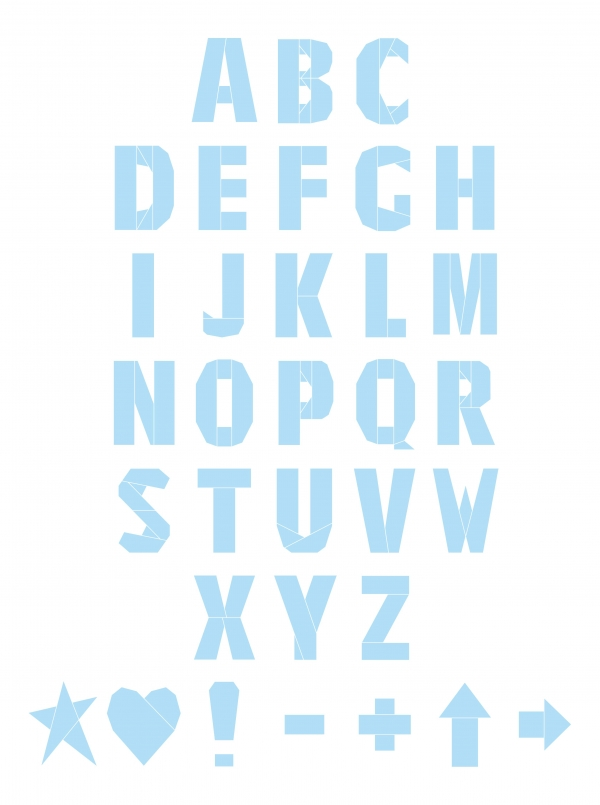 Mini FPP Alphabet and Special Characters