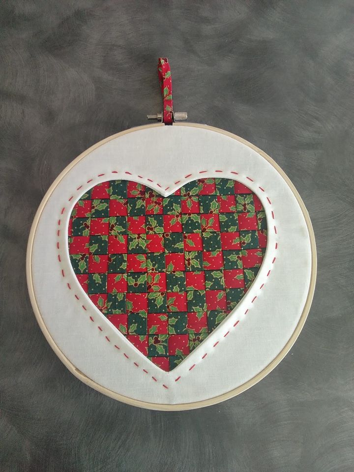 Sue Burbidge Reverse Applique Heart