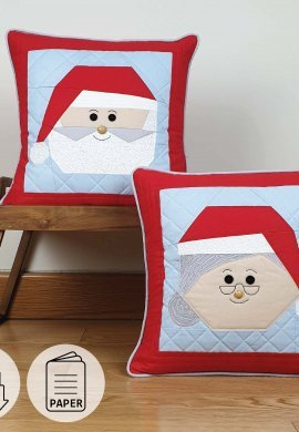 Paper and pdf Santa and Mrs Claus Product Listing Image