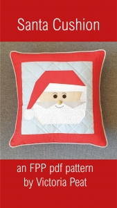Santa Cushion FPP pattern