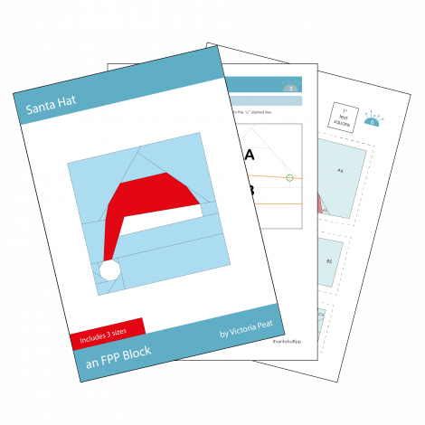 Santa Hat FPP Block Sample Pages