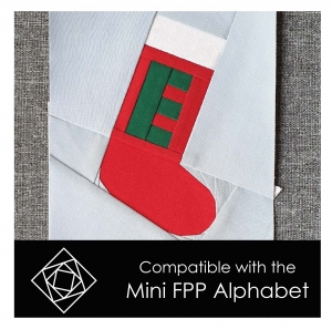 Christmas Stocking Compatible with Mini FPP Alphabet