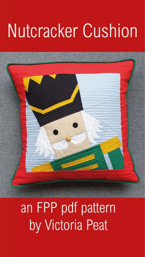 Nutcracker Cushion FPP Cushion Pattern