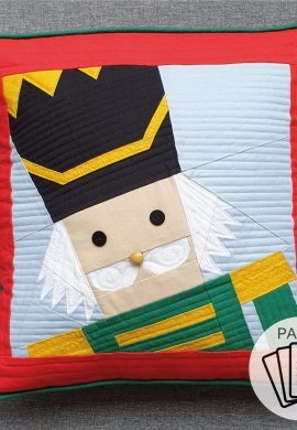 Nutcracker Paper Pattern with logo