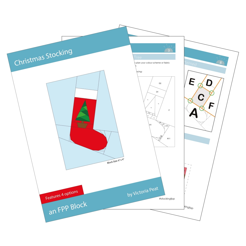 Sample Pages Christmas Stocking FPP