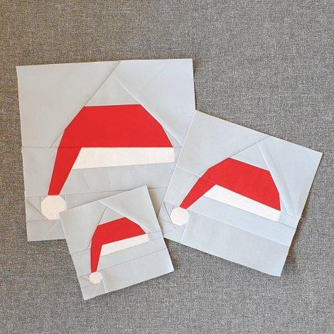 Victoria Peat Santa Hat Block Pattern