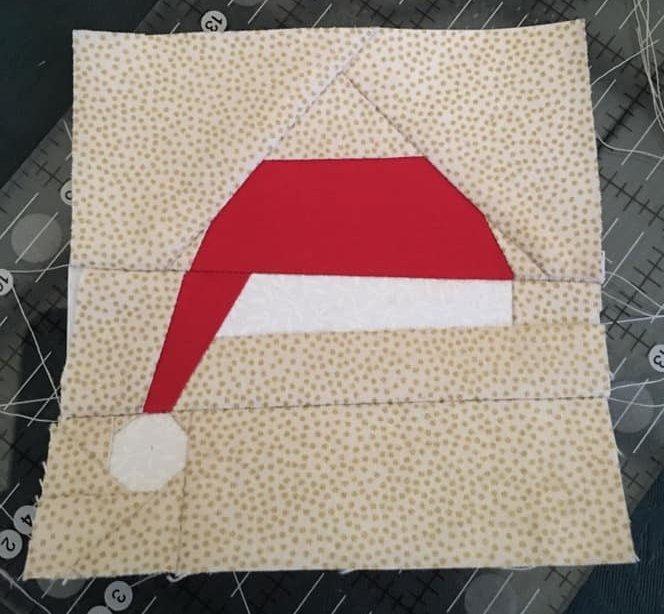Jill Peters FPP Santa Hat