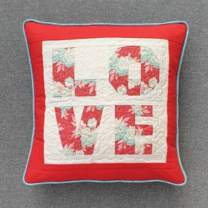 LOVE FPP Cushion