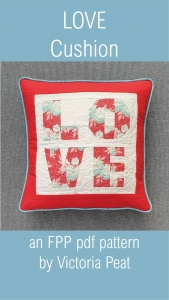LOVE FPP Cushion pdf project