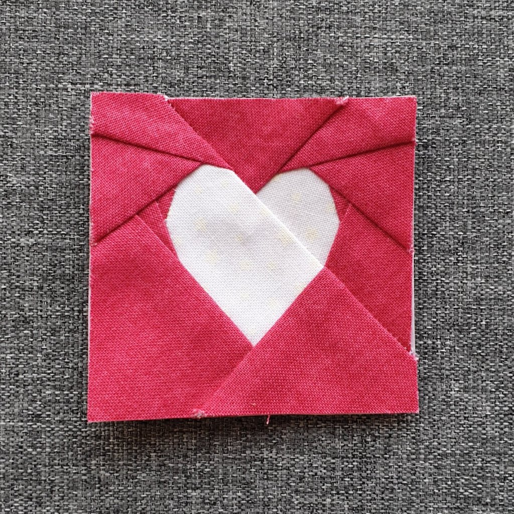 Linen Texture Simple FPP Heart