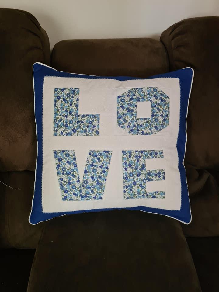 Dirna Sam Thornton LOVE FPP Cushion