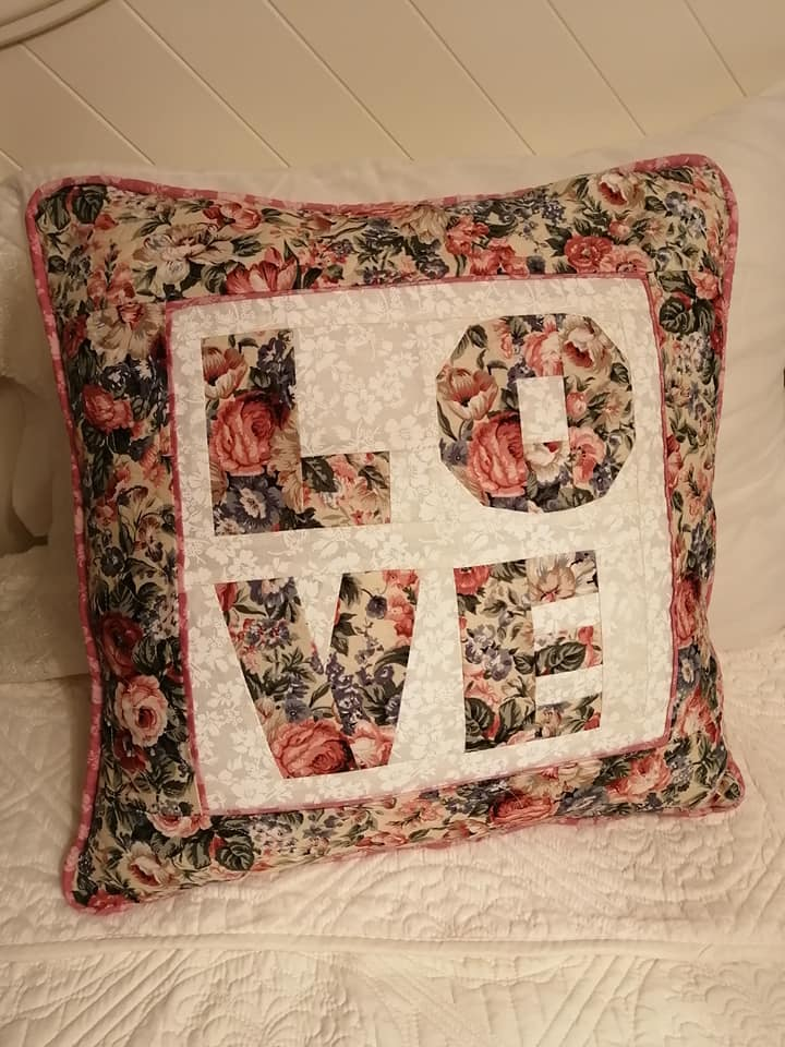 Gloria Charest LOVE fpp Cushion