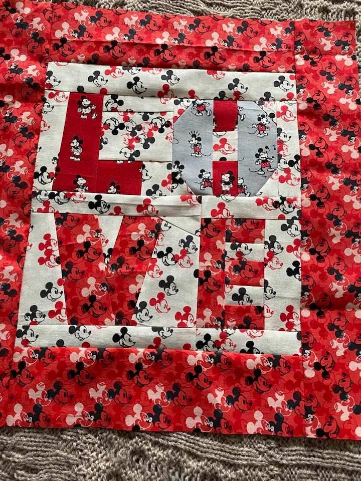 Iris Henderson LOVE FPP Cushion