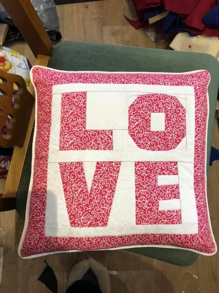 Jill Peters LOVE FPP Cushion