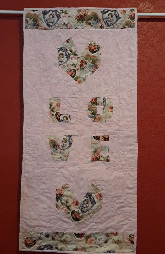 Rochelle Martin LOVE Wall Hanging