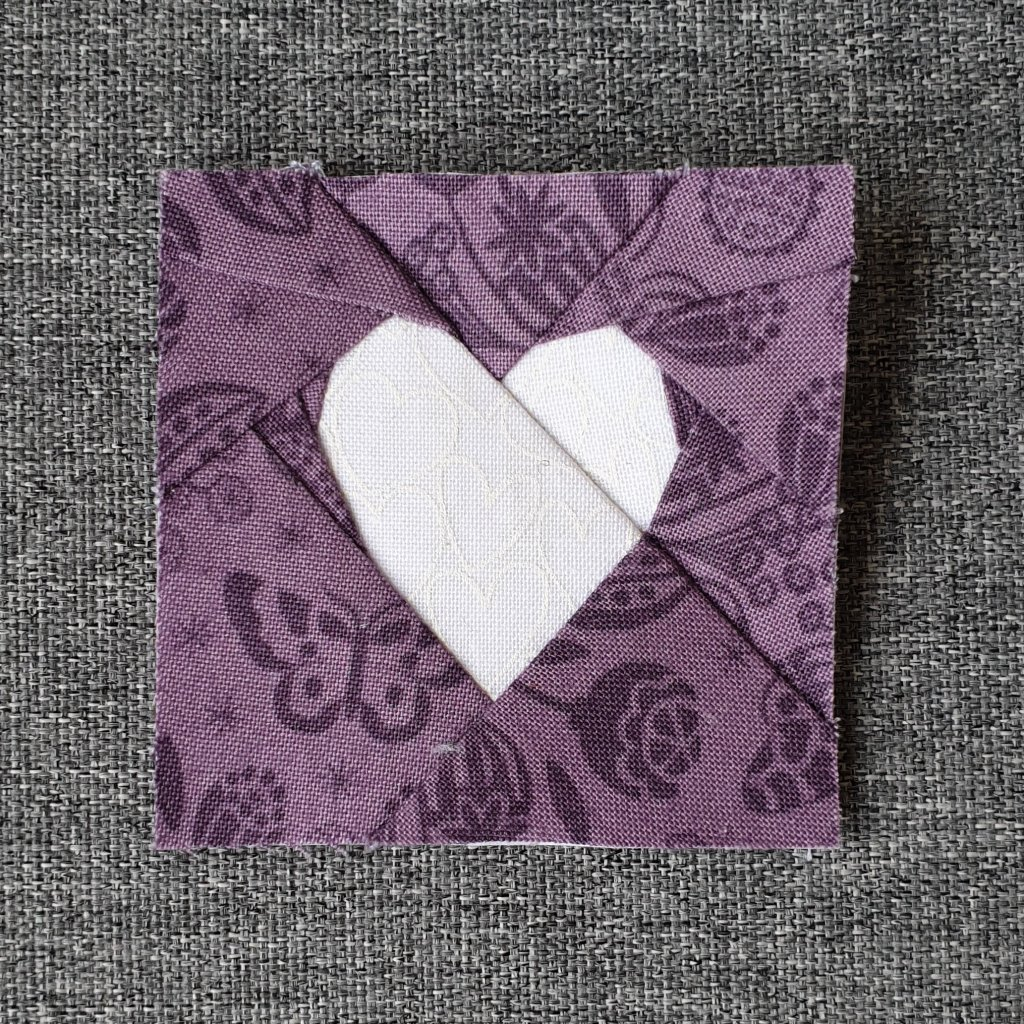 Purple Simple FPP Heart