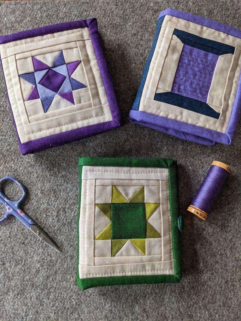 Set of Nifty Needlebooks by Joanne Gallivan