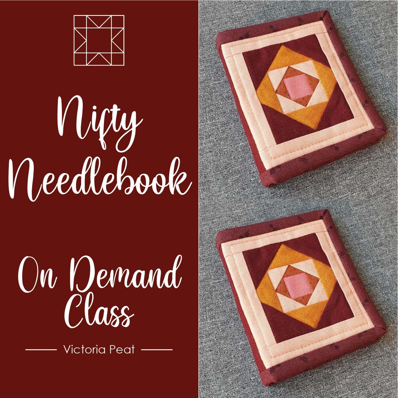 Nifty Needlebook On Demand Class