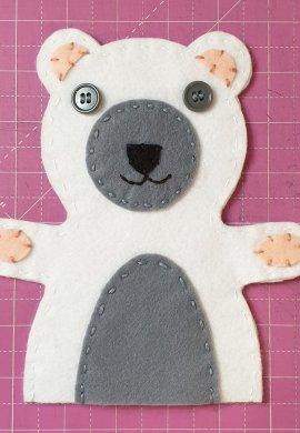 Bear Hand Puppet