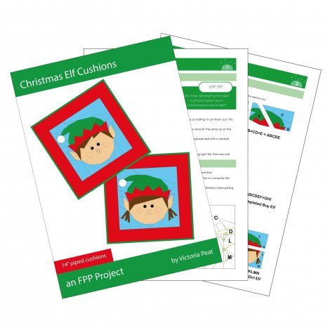 Christmas Elf Cushions Sample Pages