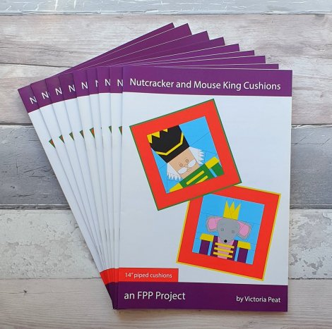 Stack of Nutcracker and Mouse King Paper Patterns